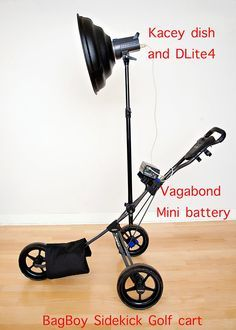 DIY Golfcart Portable Light Stand II by Joseph Philbert | ISO 1200 Magazine | Photography Video blog for photographers