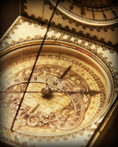 "There's a lot of math in & concerning a Sundial... and the logic that, although the shadow will return to the same place the next day of sunshine, the minutes of this shadow have left your life. Use wisely. ""Walk in wisdom... Redeem the time.""  -- Colossians 4:5 PHOTO: http://my-ear-trumpet.tumblr.com/page/2818"