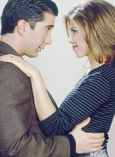 Rachel and Ross - Friends
