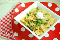 Julia's Healthy Italian Cooking: Pasta with Peas