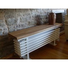 The Bench Radiator is a standard horizontal column radiator used horizontally so that it can fit into restricted spaces such as under a window or within a conservatory. Apart from its obvious function as a heater it can be used as a bench for seating purposes. If a colour option is required this can be done for an extra £145.00 - Please contact us for colour options. Was.. £549.00 Now.. £449.16
