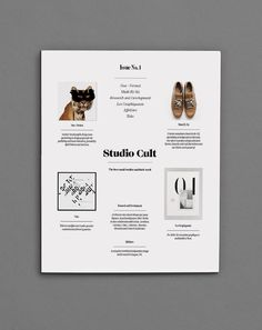 Studio Cult is a curated magazine of the finest small design studios and their work.