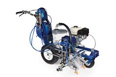 Graco LineLazer Road & Line Marking Machine Heavy-duty Airless professional road marking equipment, delivering precise and consistent lines. Front Wheel Alignment, Wood Sanders, City Jobs, Types Of Lines, 2 Guns, Road Markings, Paint Line, Famous Brands
