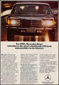 1980 Mercedes-Benz S-Klasse.
