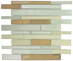 Mineral Tiles - Glass Backsplash Tile Asheville Brick, $16.50 (http://www.mineraltiles.com/glass-backsplash-tile-asheville-brick/)