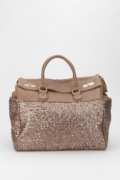 Sequin Weekender Bag from Urban Outfitters. WANT!!