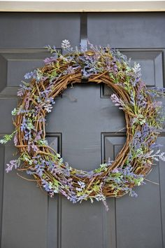 DIY Spring and summer wreath (directions)