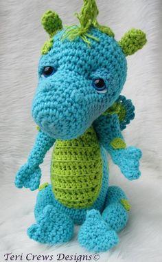 Crocheting: Cute Dragon Crochet Pattern