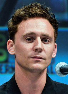 Tom Hiddleston promoting the film Thor at the 2010 San Deigo Comic-Con International  (August 2, 2010).