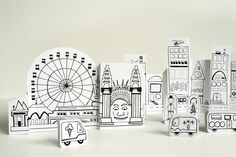 Sydney Paper City by @made by joel #printable #city