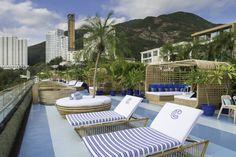 Hong Kong Rooftop Bar: Cabana in Repulse Bay http://www.guiltydelighthk.com/2016/09/must-visit-rooftop-bars-in-hong-kong/