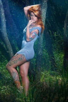 Follow us For The finest Inked Girls and female Tattoo Models around The World…
