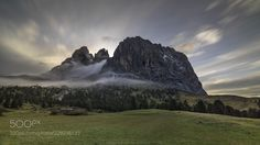 Passo Sella. Dolomites. Autumn. (Maxim K. / Moscow / Россия) #Hasselblad H4D-60 #landscape #photo #nature