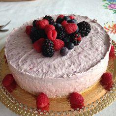 Cheesecake tricolor