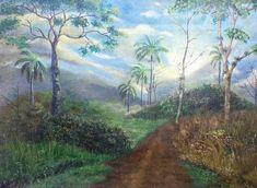 Artist Maibis NavarroMaibis Navarro Art Original Modern Impressionism Painting/Landscape art /realims art/ oilpainting/ realism aesthetic/modern art/ modern painting/ Landscape Art, Landscape Paintings, Modern Impressionism, Modern Art, Original Artwork, The Originals, Canvas, Artist, Tela