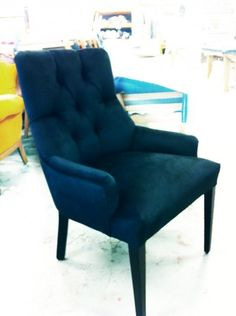 Occasional/Dining Chair - Diamond Buttoned Backrest