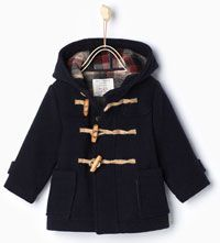 Hooded duffle coat-Tops-Baby boy | 3 months - 3 years-KIDS-SALE | ZARA United States