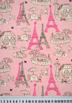 Tecido Paris Importado Ref 14124- 50cm - Casa Belém