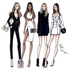 Model Behaviour: Cara, Jourdan, Gigi & Kendall