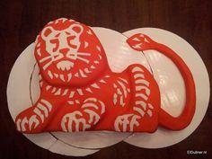 Orange lion/ING cake, how to make