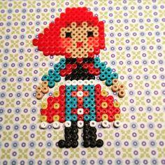Russian doll hama beads by tvinni_