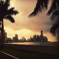 My last morning walk in Panama City for a couple weeks. Off to the beach. To see more: heatherbourque.ca  #Panama #panamacity #travel #photography