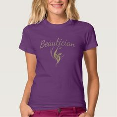 Beautician T-T Shirt, Hoodie Sweatshirt