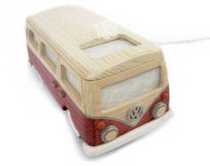 Volkswagen wood lamp - classical bus