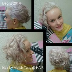 Thk u Match Tong @ HAiR for my lovely hairdo for 5/12 VTC event & 沙田浸信會合一堂 Music Cafe show!