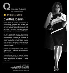 Cynthia Benini -  Exclusiva Caíco De Queiroz