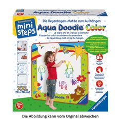Aquadoodle - Ein Riesenspaß für die Kleinen.