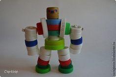 More bottle-cap robots, including snakes and horses. Варианты ёлочных игрушек из крышек - Ярмарка Мастеров - ручная работа, handmade