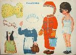 Old Finnish paper dolls