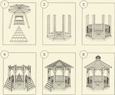 12 Free Gazebo Plans | Gazebo Kits | DIY Gazebo | Amish Country Gazebo