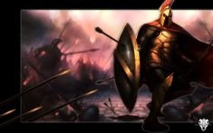 Pantheon - League of Legends by nmoreKharon on DeviantArt