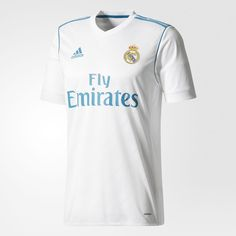 Real Madrid 17-18 Home Kits Revealed - Footy Headlines