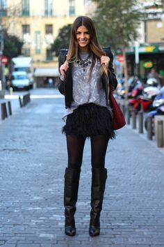 I NEED a feather skirt. Seriously ?? Cuteness, anyone ?