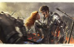 Love in the middle of War by Wisnu Tan | Knights and Armor.