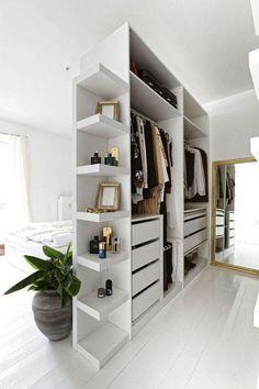 Sweet 10 Bedroom Wardrobe Renovation ideas for you Allabouthome Ikea Pax Closet, Ikea Pax Wardrobe, Bed In Closet, Bedroom Wardrobe, Wardrobe Closet, Wardrobe Ideas, Closet Ideas, Wardrobe Organisation, Wardrobe Design