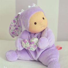 Doudou isabelle - poupée waldorf *sur commande*