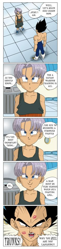 I really missed doing short comics about Vegeta and Bulma.... This is a scene I wanted to do since a long time ago and finally I did it! I hope you like : ) DOWNLOAD IT FOR A BETTER VIEW! Vegeta, B...
