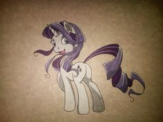 Rarity the old