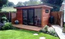 4mx2.4m Apprentice Garden Office (Nothing like cutting down the morning commute)