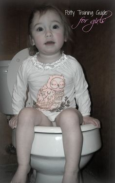 Potty Training Guide for Girls ~ Momma Without a Clue