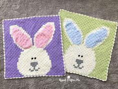 Crochet Bunny C2C Blanket - Repeat Crafter Me