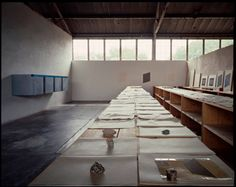 Donald Judd studio, Marfa, Texas
