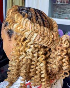 Dreadlock Styles, Dreads Styles, Curly Hair Styles, Natural Hair Styles, Short Locs Hairstyles, Crown Hairstyles, Hair Junkie, Beautiful Dreadlocks, Hair Braider