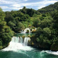 Vodopády v národním parku KRKA :)