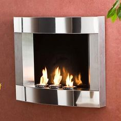 Wall Mounted Fireplace