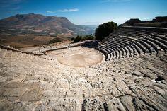Greek Theatre, Segesta - Sicily, Italy   Flickr - Photo Sharing!